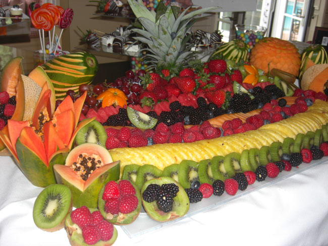 fresh-fruit-display